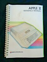 Vintage APPLE II Computer Reference Manual Book 1981 Plus Personal System Spiral