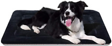 New listing Dog Beds for Medium Dogs 35 in Crate Bed Mat Anti-Slip Washable Soft Fleece Matt