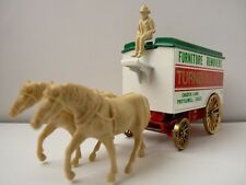 Diecast Furniture Removers Turnbull & Co Essex  Horse and Cart