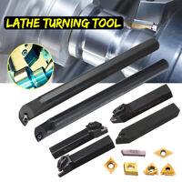 Lathe Turning Tool Holder Boring Bar CNC Tools Lathe Cutting Carbide Insert Set
