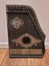Alte Deutsch Amerikanische Guitar Zither Zupfinstrument Musik Instrument vintage