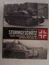 Osprey Book: Sturmgeschütz: Panzer, Panzerjäger, Waffen-SS and Luftwaffe Units