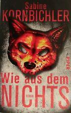 Wie aus dem Nichts: Roman von Kornbichler, Sabine | Buch | Zustand gut