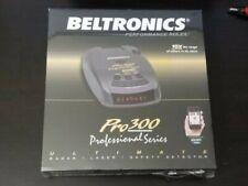 Beltronics PRO 300 Radar Detector 10x Long Range Auto Scanning Escort Live