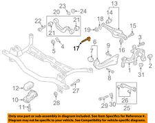 VW VOLKSWAGEN OEM Jetta Rear Suspension-Lower Control Arm Adjust Bolt WHT000228