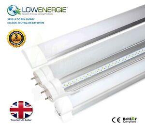 LED Tube Light Energy Saving Fluorescent T8 T12 Replacement Multi Buy Slimline