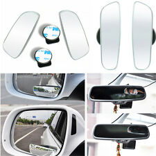 2Pcs 360° Wide Angle Convex Rear Side View Blind Spot Mirror For Universal Car