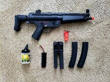 New listing Echo1 M5-J Airsoft SMG Ver 3 w/ 3 Magazines, 2 Batteries, and BBs