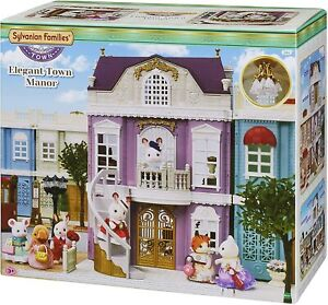 Sylvanian Families 5365 Elegant Town Manor Gift Set BRAND NEW