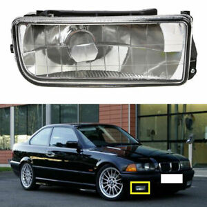 New Fog Light Crystal Lens Right Assembly for 92-98 BMW E36 318i 325i 323i 328i