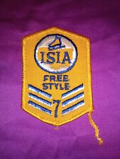 Vintage Skating Isia 7 Th Test Patch