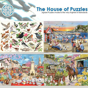 House of Puzzles BIG 500 piece Jigsaws THE FULL COLLECTION OF TITLES, UK MADE