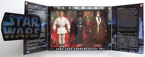 "Star Wars Hong Kong Commemorative Edition 12"" Luke, Vader, Kenobi 3-Figure Set"