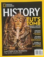 National Geographic HISTORY Magazine lot (3) 2018
