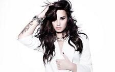"009 Demi Lovato - USA Singer Actress 22""x14"" Poster"