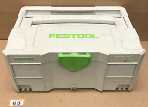 Festool Systainer SYS 2 T-Loc Stackable Tool Box Case (63)