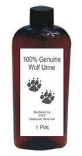 EBT Scent Company 1 Pint Genuine Wolf Urine! *Peddling Pee Since 1986!*