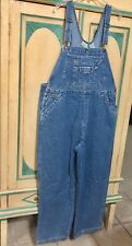 St. John's Bay Women's Plus 20 1x Denim Bib Overalls coveralls NWT