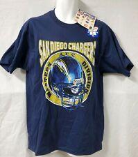 Pro Player Blue San Diego Chargers T Shirt Size Medium Oversized Short Sleeve