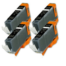 4 Pack Black Ink Cartridge + LED Chip for CLI-226BK MG5120 iP4820 iP4920 MG5220