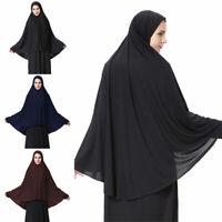 Abaya Womens Prayer Jilbab Long Dress Hijab Large Overhead Scarf Islamic Clothes