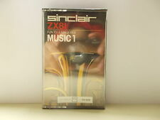 Music 1, Sinclair, ZX81, Fun to learn series.