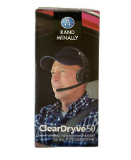 Rand McNally ClearDryve 50 2-in-1 Wireless Bluetooth Over-Ear Headphones