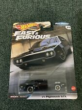 '71 Plymouth GTX * 2020 Hot Wheels FULL FORCE Fast Furious Case H