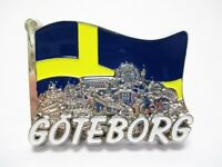 Göteborg Metall Magnet Collage Flagge Souvenir Schweden