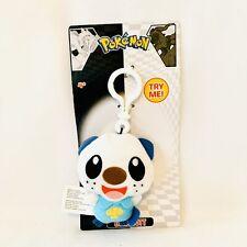 "NWT Nintendo Pokémon 3"" Oshawott Plush Backpack/Purse Clip On"