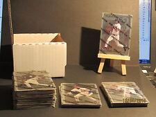 1996 Leaf Preferred Steel 77 Card Set Mint Jeter