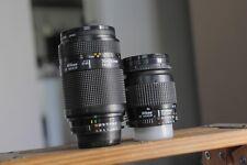 Nikon AF 28-80mm and 70-210mm FX for Nikon D70,80,90,200,300,7000,600,800