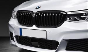 BMW Genuine M Performance Front Radiator Kidney Grille Pair 2445002 2445003 6GT