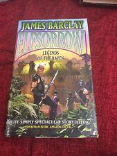 Elfsorrow: Legends of the Raven by James Barclay (Hardback, 2002)