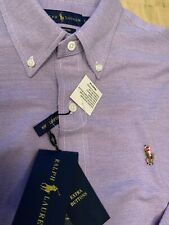 Ralph lauren Polo shirt L - Purple Blue / Button Down -