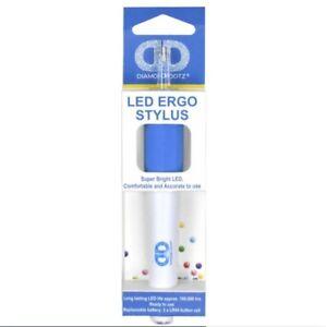 Diamond Dotz LIGHTUP LED Ergo Stylus Drill Pen, Comfortable Diamond Painting NEW