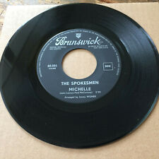 "the SPOKESMEN ‎– Michelle (Beatles cover) 1966 BELGIUM Brunswick EX+ VINYL 7"")"