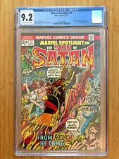 Marvel Spotlight 12 (1974) CGC 9.2 3758778004 Daimon Hellstrom
