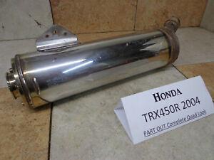 Honda TRX450R HRC Genuine Honda Stock Exhaust Muffler 18300-HP1-000 04-05