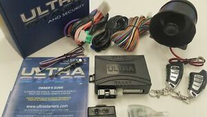 Ultra Start U2280-XR PRO Remote Auto Car Start Starter & Alarm Security System