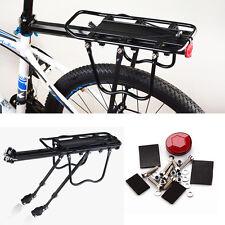 Fahrrad Alu Gepäckträger geeignet für Mountainbike Schnellspannhebel 50kg