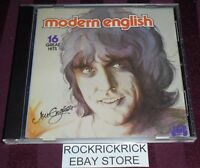 JON ENGLISH - MODERN ENGLISH -16 TRACK CD- VERY RARE (JB 447CD)