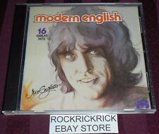 JON ENGLISH - MODERN ENGLISH -16 TRACK CD- VERY RARE (JB 447CD)
