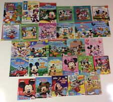 Mickey Mouse Clubhouse 28 Picture Book Lot Disney Minnie Mouse Smart Pad