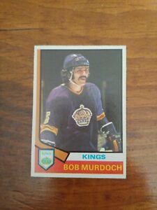 1974-75 O-Pee-Chee #194 Bob Murdoch RC Rookie Los Angeles Kings