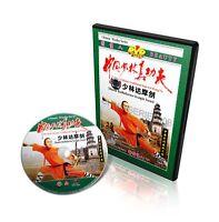 Real Traditional Shaolin Kung Fu Bodhidarma Straight Sword by Shi Deci DVD