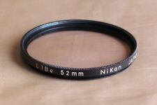 used 52mm Nikon l1bc l1b coated protection nc filter for Nikkor lens