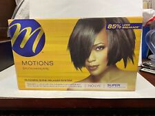Motions Salon Haircare Silkening Shine Relaxer System Regular