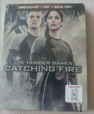 Hunger Games: Catching Fire 2013 SteelBook Blu-ray + DVD Combo