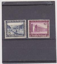 Germany B100-101 MNH  REDUCED   (Both have streaky gum, see back scan)
